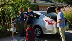 Nell Rebecchi, Sonya Mitchell, Callum Jones, Toadie Rebecchi in Neighbours Episode 7621