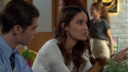 Ben Kirk, Elly Conway in Neighbours Episode 7621