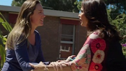 Sonya Mitchell, Dipi Rebecchi in Neighbours Episode 7622
