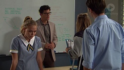 Xanthe Canning, Finn Kelly, Piper Willis, Ben Kirk in Neighbours Episode 7622