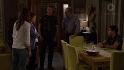 Elly Conway, Susan Kennedy, Mark Brennan, Karl Kennedy, Ben Kirk in Neighbours Episode 7623
