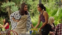 Dipi Rebecchi, Mishti Sharma in Neighbours Episode 7624