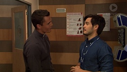 Jack Callaghan, David Tanaka in Neighbours Episode 7624