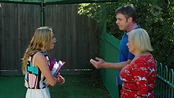 Xanthe Canning, Gary Canning, Sheila Canning in Neighbours Episode 7624