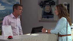 Paul Robinson, Amy Williams in Neighbours Episode 7625