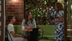 Jimmy Williams, Amy Williams, Terese Willis in Neighbours Episode 7625
