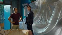 Jack Callaghan, Leo Tanaka in Neighbours Episode 7625