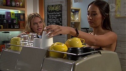 Xanthe Canning, Mishti Sharma in Neighbours Episode 7626