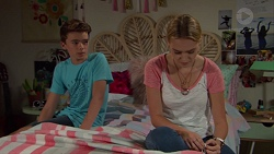 Jimmy Williams, Xanthe Canning in Neighbours Episode 7626