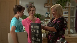 Jimmy Williams, Amy Williams, Sheila Canning in Neighbours Episode 7626