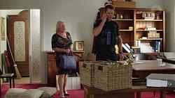 Sheila Canning, Mark Brennan in Neighbours Episode 7627