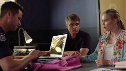 Mark Brennan, Gary Canning, Xanthe Canning in Neighbours Episode 7628