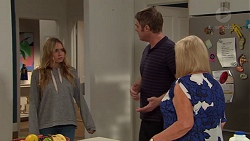 Xanthe Canning, Gary Canning, Sheila Canning in Neighbours Episode 7628