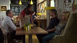 Toadie Rebecchi, Dipi Rebecchi, Gary Canning, Xanthe Canning in Neighbours Episode 7628