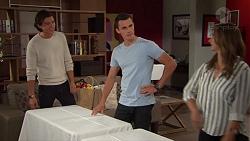 Leo Tanaka, Jack Callahan, Amy Williams in Neighbours Episode 7629