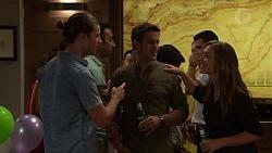Tyler Brennan, Jezza Newell, Amy Williams in Neighbours Episode 7629