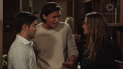 David Tanaka, Leo Tanaka, Amy Williams in Neighbours Episode 7629