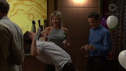 Jack Callahan, Steph Scully, Paul Robinson in Neighbours Episode 7629