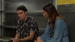 Ben Kirk, Elly Conway in Neighbours Episode 7629