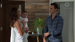 Paige Novak, Gabriel Smith, Jack Callaghan in Neighbours Episode 7630