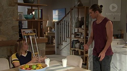 Piper Willis, Tyler Brennan in Neighbours Episode 7630