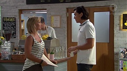 Steph Scully, Leo Tanaka in Neighbours Episode 7630