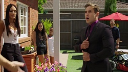 Mishti Sharma, Yashvi Rebecchi, Kirsha Rebecchi, Aaron Brennan, Shane Rebecchi in Neighbours Episode 7630