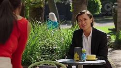 Mishti Sharma, Leo Tanaka in Neighbours Episode 7631