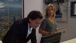Leo Tanaka, Steph Scully in Neighbours Episode 7631