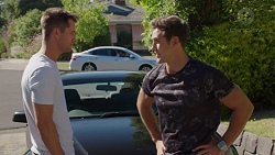 Mark Brennan, Aaron Brennan in Neighbours Episode 7631