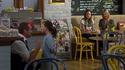 Toadie Rebecchi, Nell Rebecchi, Sonya Mitchell, Steph Scully in Neighbours Episode 7631