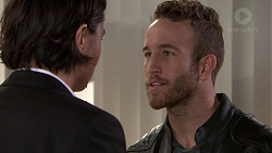 Leo Tanaka, Mannix Foster in Neighbours Episode 7631