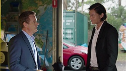 Paul Robinson, Leo Tanaka in Neighbours Episode 7632
