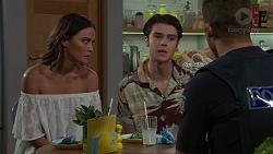 Elly Conway, Ben Kirk, Mark Brennan in Neighbours Episode 7632