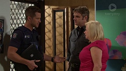 Mark Brennan, Gary Canning, Sheila Canning in Neighbours Episode 7633