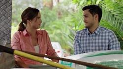 Amy Williams, David Tanaka in Neighbours Episode 7633
