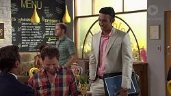 Aaron Brennan, Shane Rebecchi, Tom Quill in Neighbours Episode 7633