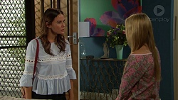 Elly Conway, Xanthe Canning in Neighbours Episode 7633