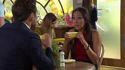 Aaron Brennan, Mishti Sharma in Neighbours Episode 7633