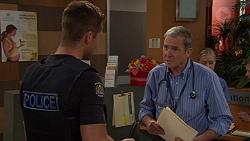 Mark Brennan, Karl Kennedy in Neighbours Episode 7633