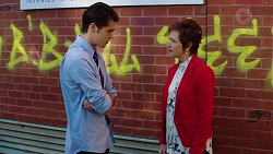 Ben Kirk, Susan Kennedy in Neighbours Episode 7635