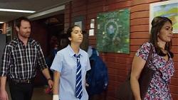 Shane Rebecchi, Yashvi Rebecchi, Dipi Rebecchi in Neighbours Episode 7635