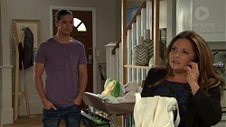 Tyler Brennan, Terese Willis in Neighbours Episode 7635