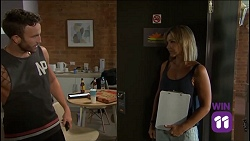 Mannix Foster, Steph Scully in Neighbours Episode 7636