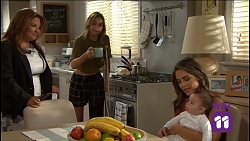 Terese Willis, Piper Willis, Paige Novak, Gabriel Smith in Neighbours Episode 7636
