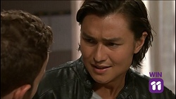 Mannix Foster, Leo Tanaka in Neighbours Episode 7636