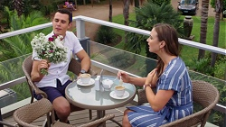 Jack Callaghan, Amy Williams in Neighbours Episode 7637