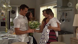 Jack Callaghan, Paige Novak, Gabriel Smith in Neighbours Episode 7637