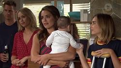 Mark Brennan, Courtney Grixti, Paige Novak, Gabriel Smith, Piper Willis in Neighbours Episode 7637