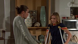 Tyler Brennan, Piper Willis in Neighbours Episode 7637